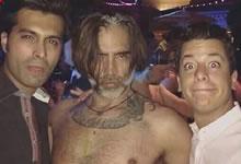 La escandalosa foto de Alejandro Fernández