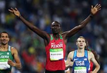 Rudisha bicampeón olímpico en final de los 800 metros