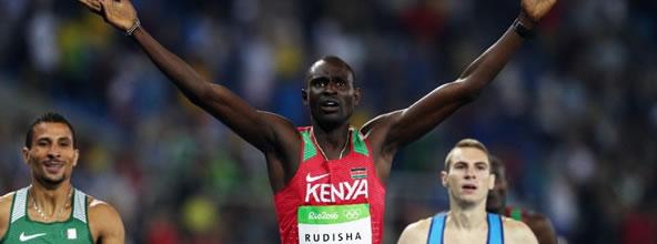 Leer mas sobre Rudisha bicampeón olímpico en final de los 800 metros