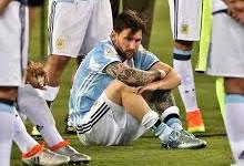 Se retira Lionel Messi de la Selección Argentina